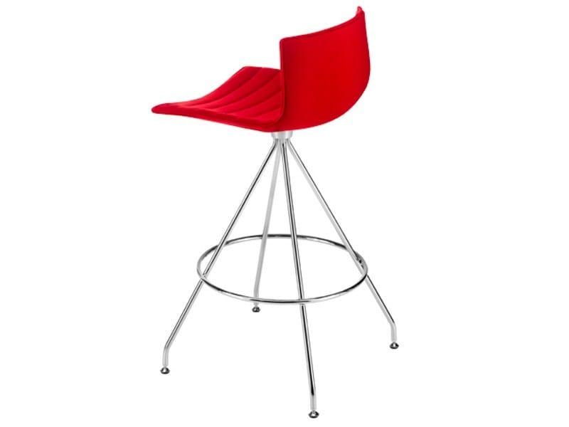 Barstool CATIFA 46 | Trestle-based stool - Arper
