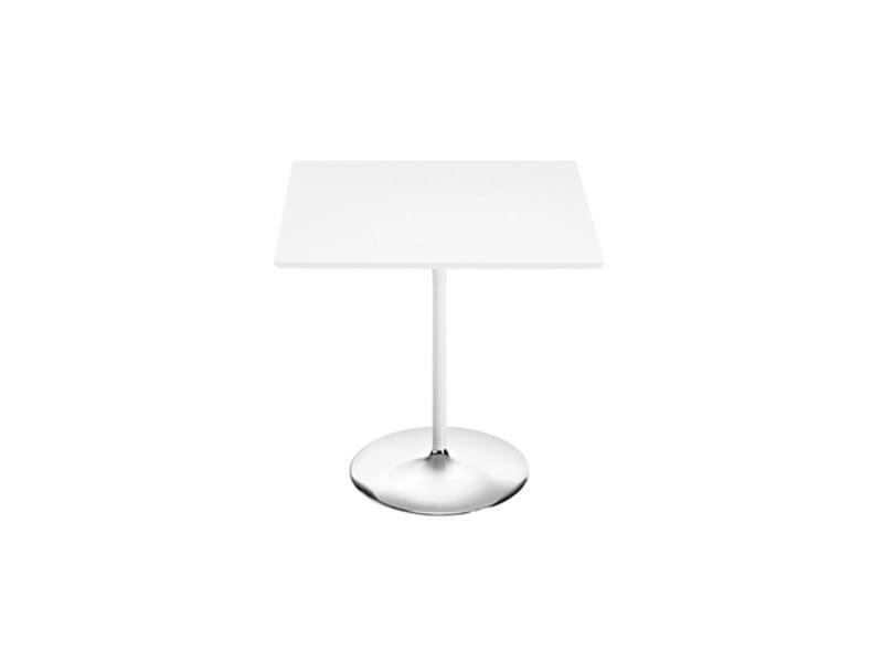 Square MDF coffee table DUNA | Square coffee table - Arper