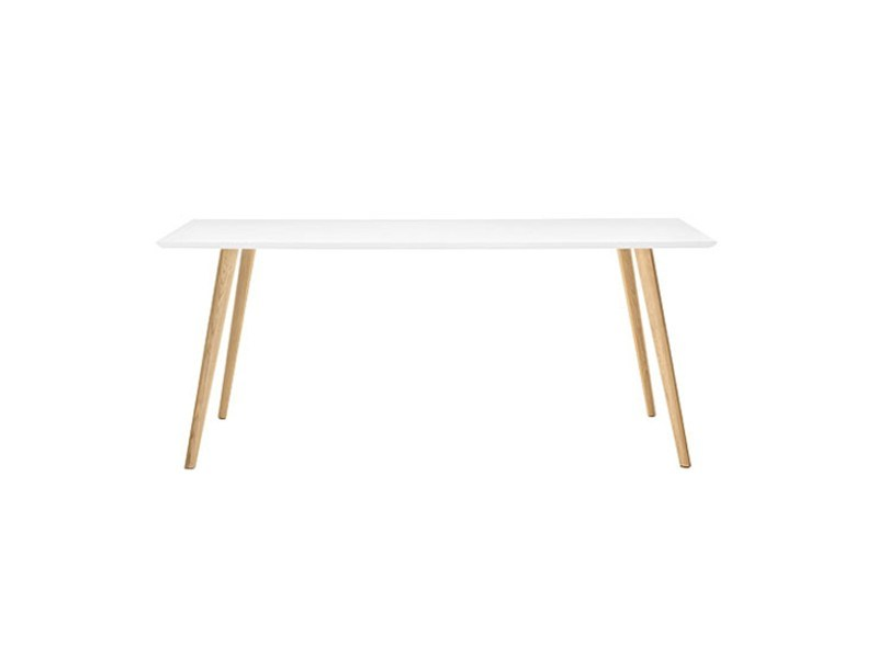 Design wooden table GHER | Rectangular table by arper