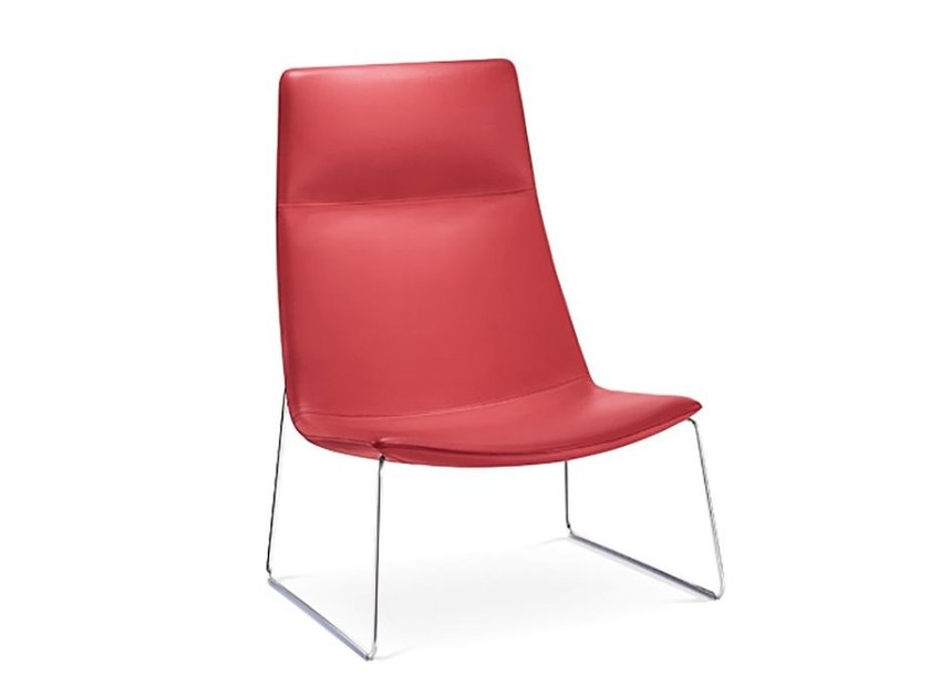 Sled base armchair CATIFA 70 | Sled base armchair - Arper
