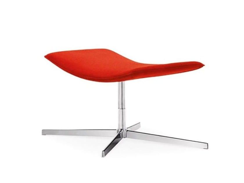 Footstool with 4-spoke base CATIFA 70 | Footstool with 4-spoke base - Arper