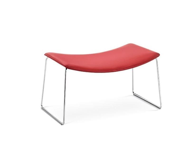 Sled base footstool CATIFA 70 | Sled base footstool - Arper