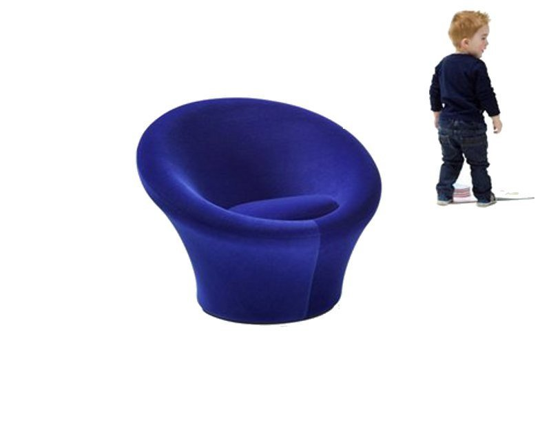 Upholstered kids armchair MUSHROOM JUNIOR by Artifort