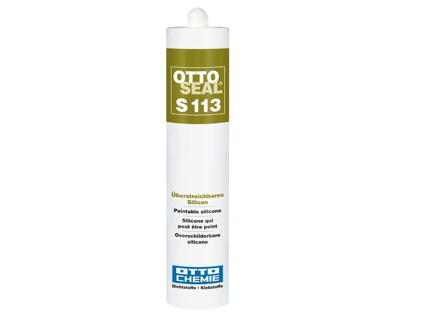 Paintable silicone OTTOSEAL®	 S 113 by 8-Chemie