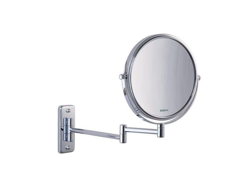 Round shaving mirror