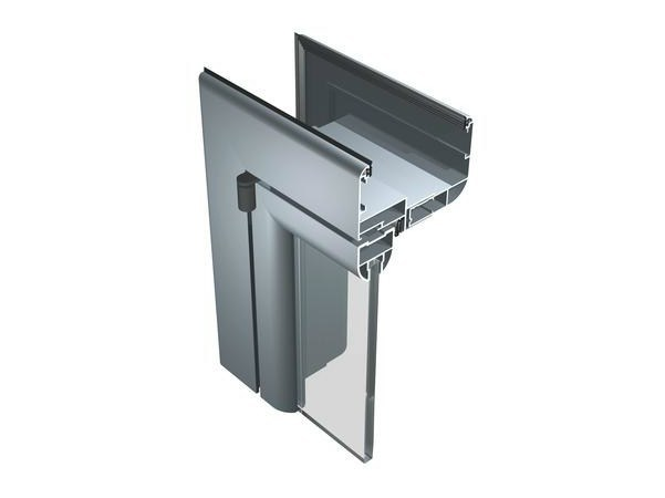 Hinged glass door 50 PI by ALUK Group