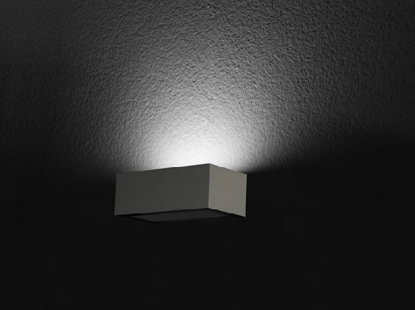 LED direct light wall lamp