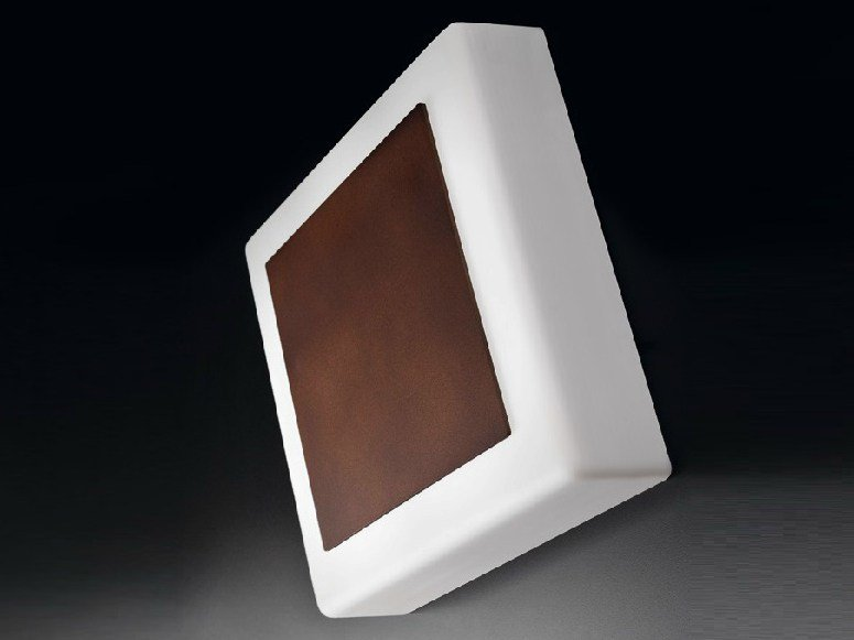 PMMA wall light CUBO 300 by Lombardo