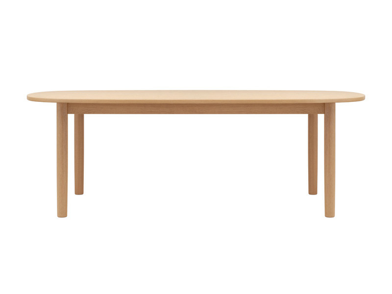 Table extensible ovale en bois 1130 by thonet design - Table ovale extensible design ...