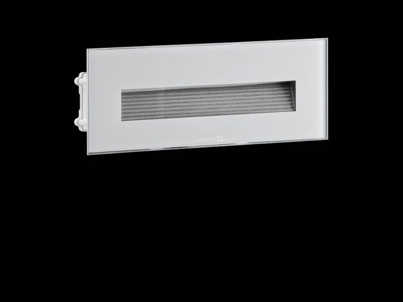 LED wall-mounted steplight STILE NEXT 506L ASIMMETRICO ORIZZONTALE by Lombardo