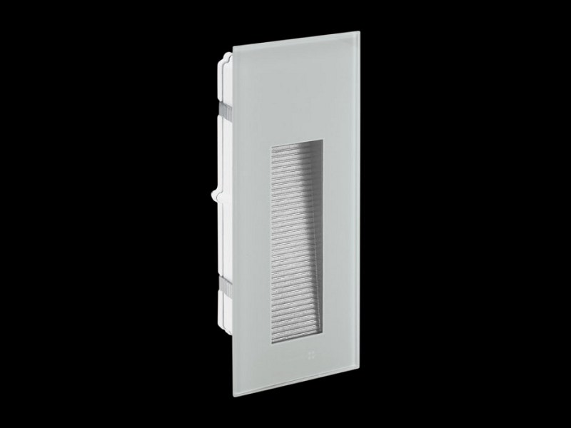 LED wall-mounted steplight STILE NEXT 506L ASIMMETRICO by Lombardo
