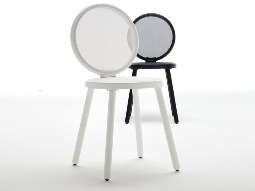 Medallion chair jonathan by tonon design paolo nava - Chaise medaillon moderne ...
