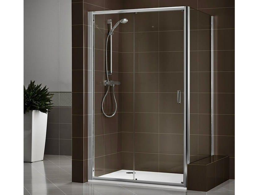 Crystal shower cabin with tray DUKESSA-S 3000 - DUKA