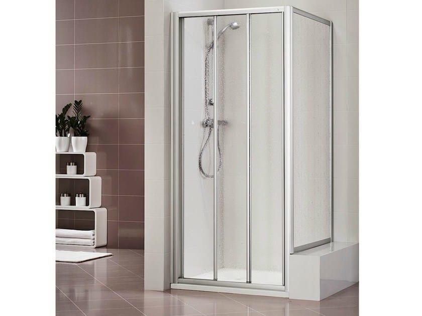 Methacrylate shower cabin with sliding door DUKESSA 3000 - DUKA