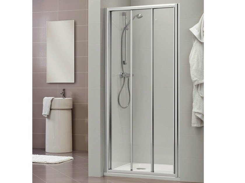 Niche shower cabin with sliding door DUKESSA 3000 - DUKA