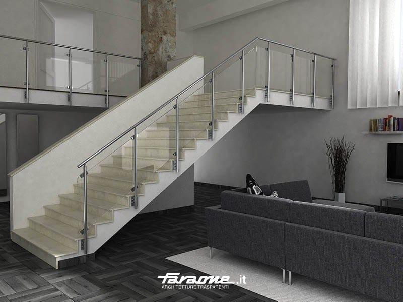 Baranda de aluminio para escaleras sky b by faraone - Barandas de aluminio ...
