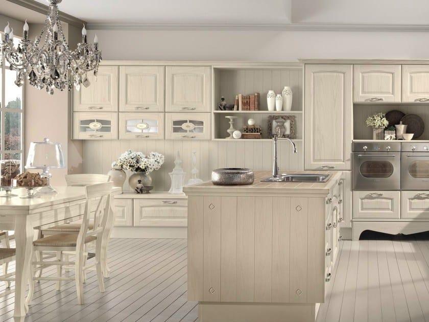 Cucina in legno con isola VERONICA  Cucina - Cucine Lube