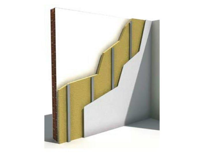 Insulation system for special application CONTROPARETE W623 - Knauf Italia
