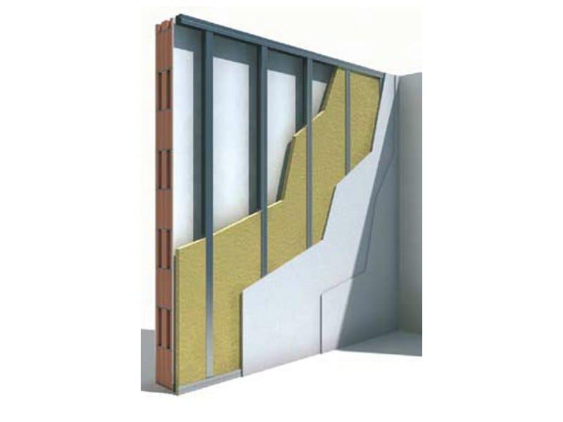 Insulation system for special application CONTROPARETE W625 - Knauf Italia