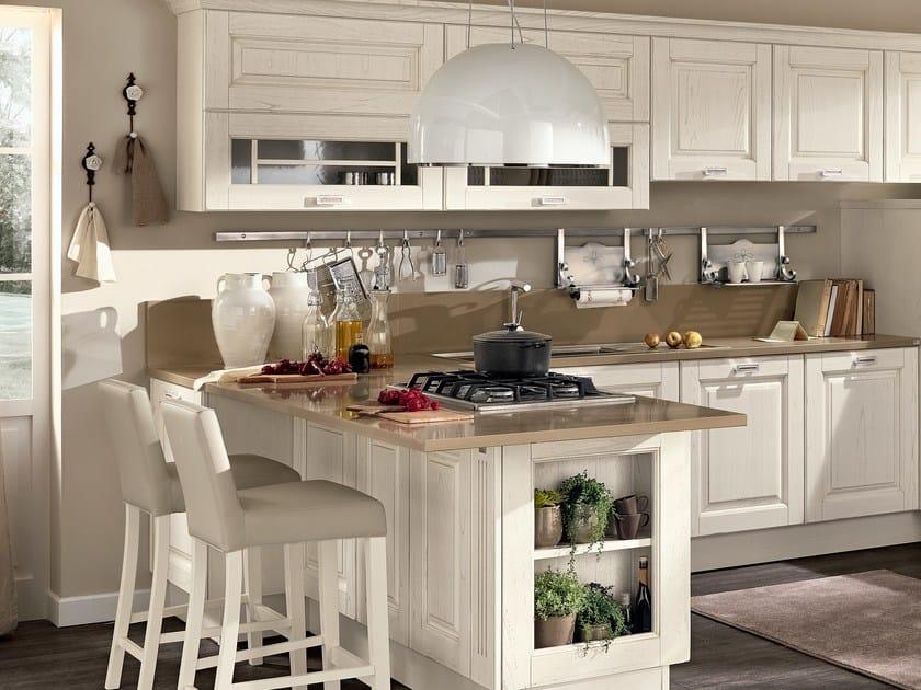 Cucina in legno con maniglie laura cucina con maniglie cucine lube - Maniglie cucina leroy merlin ...