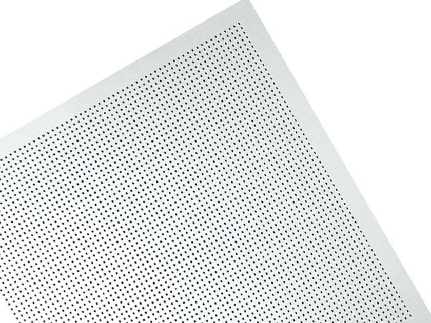 Plasterboard ceiling tiles MICRO M1 - Knauf Italia
