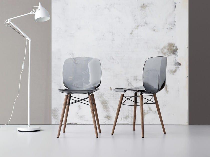 Plastic chair LOTO W by Bonaldo