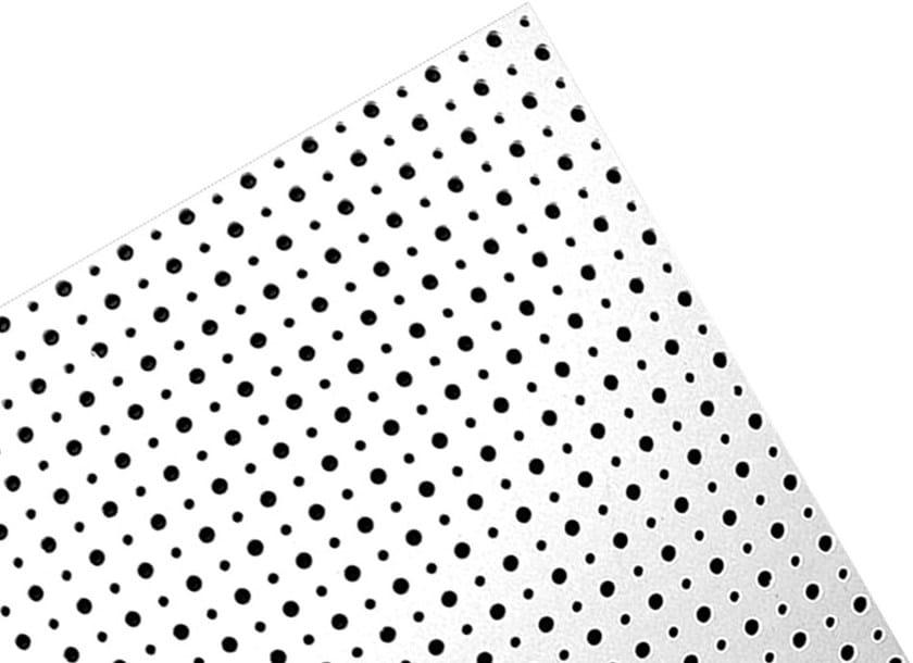 Gypsum ceiling tiles FORATURA CIRCOLARE ALTERNATA - R by Knauf Italia