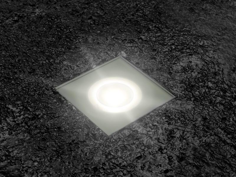 LED walkover light steplight STILE NEXT ZERO 120Q by Lombardo