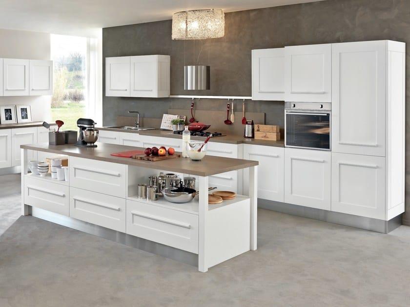 Cucina con isola con maniglie integrate gallery cucina con isola cucine lube - Maniglie mobili cucina ...