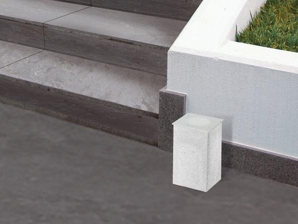 Cement Floor lamp CEMENTO STYLE 120Q | Floor lamp by Lombardo