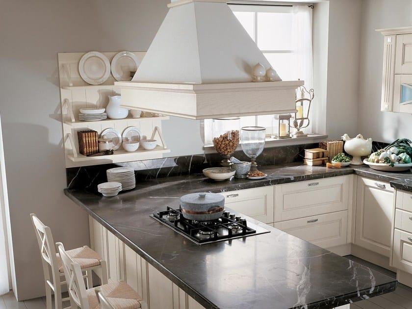 Cucina laccata in legno massello AGNESE | Cucina - Cucine Lube