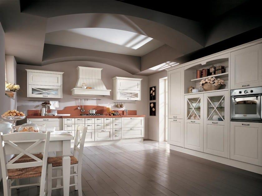 Cucina laccata in legno massello agnese cucina cucine lube - Cucina lube agnese ...