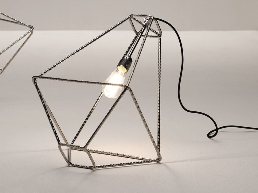 Steel table lamp CON.TRADITION - Opinion Ciatti