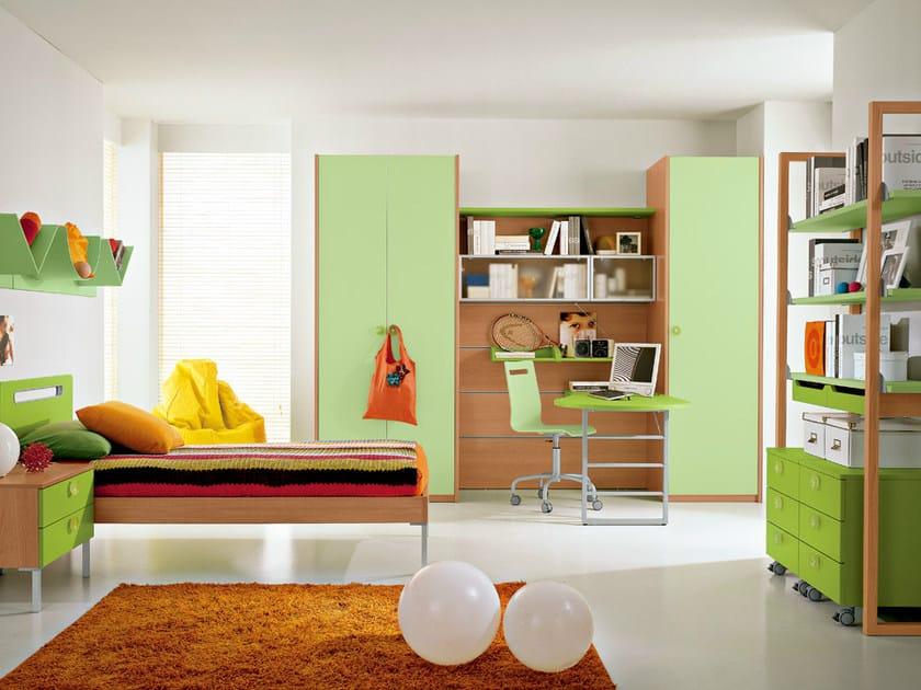 Cameretta in legno per bambini kids c3 collezione kids by for Faer camerette