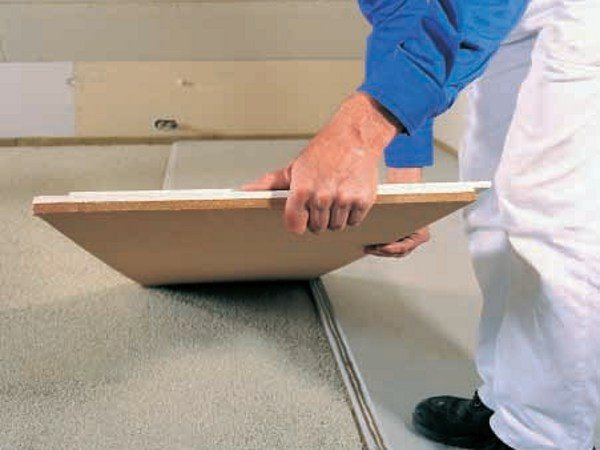 Screed and base layer for flooring BRIO® 18 WF E BRIO® 23 WF by Knauf Italia