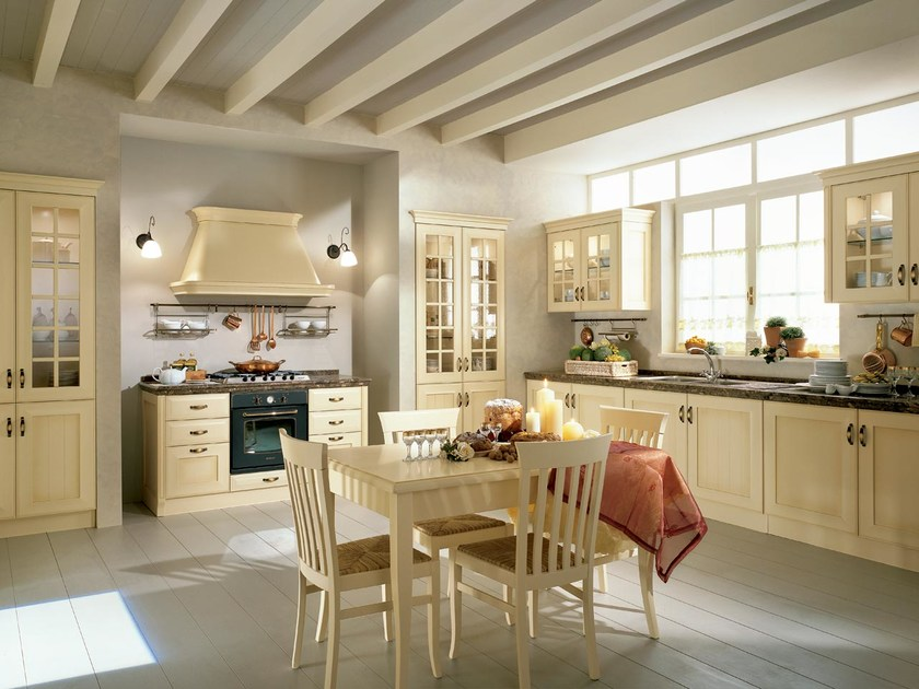 Lacquered MDF kitchen VELIA LACCATA | MDF kitchen by Cucine Lube