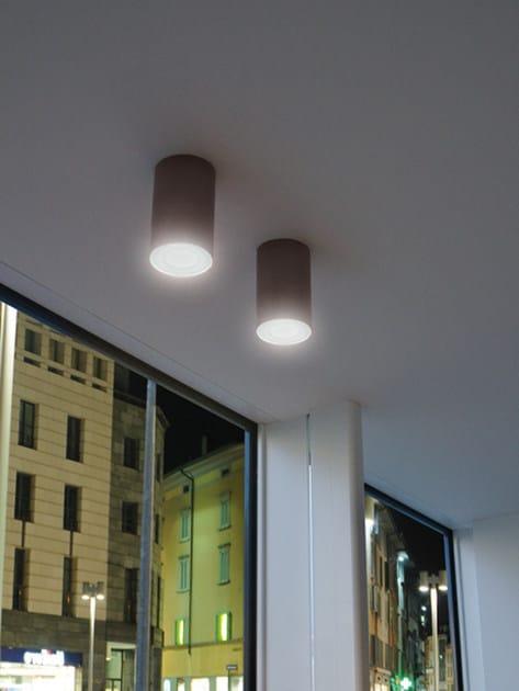 Lampada da soffitto a LED in cemento CEMENTO STYLE 120T  Lampada da soffitto - Lombardo