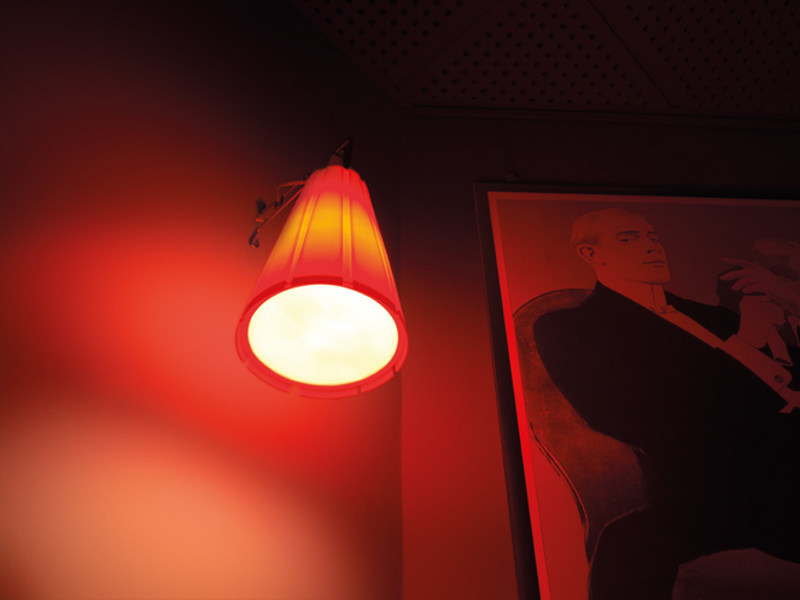 TPV wall lamp - Lampada da parete in TPV