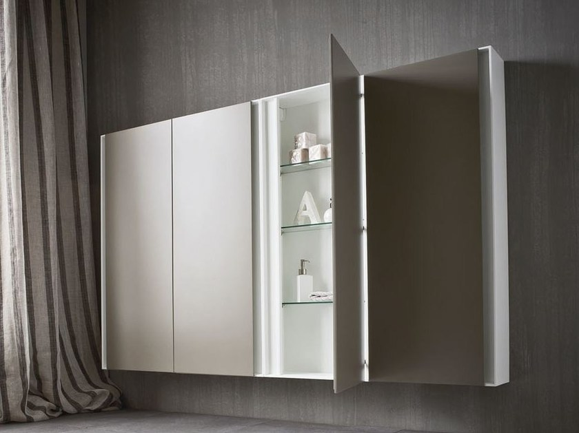 Corian® wall cabinet ERGO-NOMIC | Corian® wall cabinet by Rexa Design