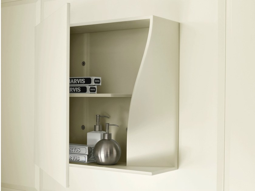 Corian® wall cabinet WARP | Wall cabinet - Rexa Design
