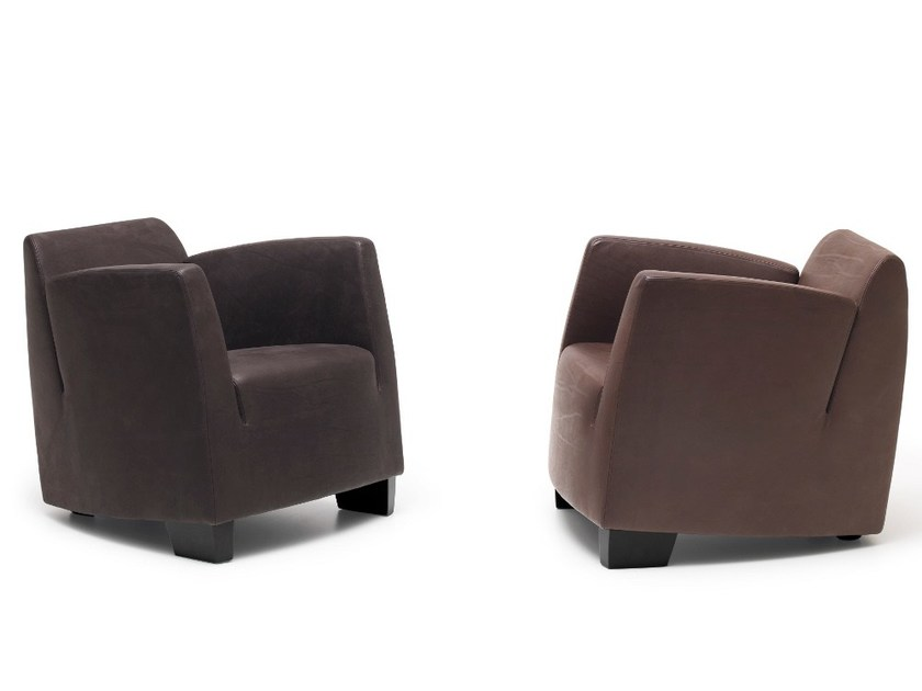 Armchair with armrests DS-2620 by de Sede