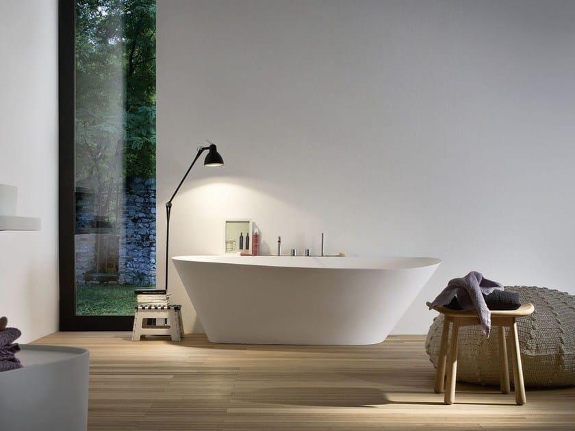 Vasca da bagno ovale in korakril fonte vasca da bagno - Vasca da bagno piccole dimensioni ...