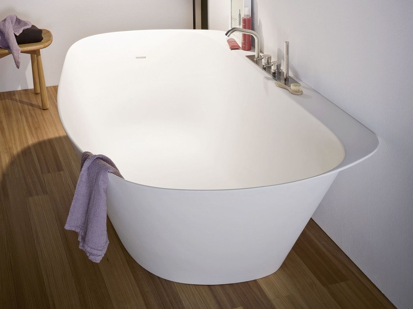 Oval Korakril™ bathtub FONTE | Bathtub - Rexa Design