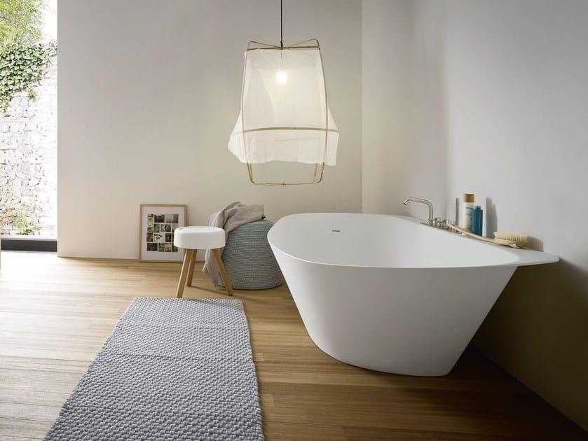 Vasca da bagno ovale in korakril fonte vasca da bagno rexa design - Vasca da bagno ovale ...