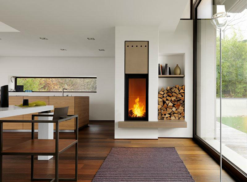Faïence Fireplace Mantel LANCASTER by Piazzetta