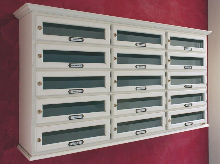 Wooden mailbox HORIZONTAL - RAVASI