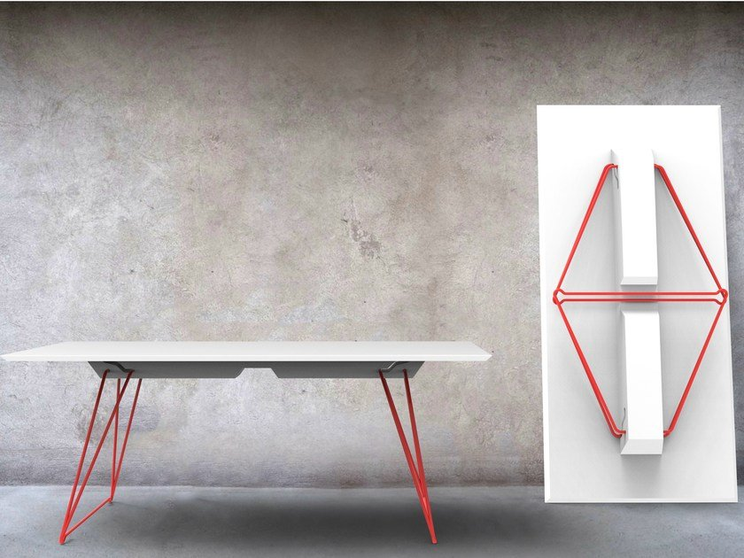 Stackable folding table LUCY - Johanson Design