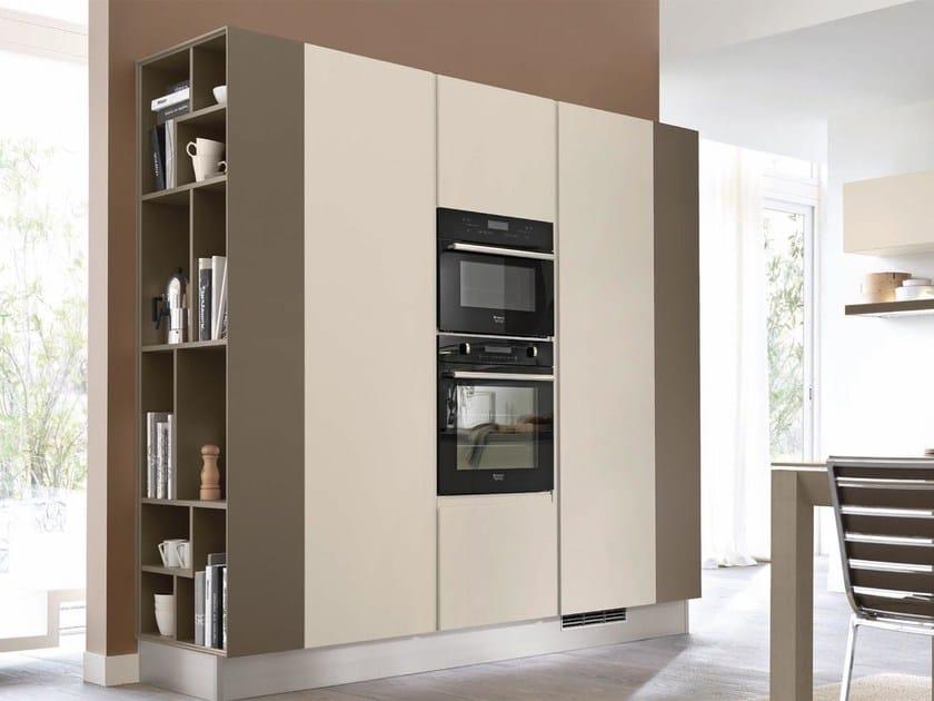 Cucina componibile in legno senza maniglie linda cucina - Cucina senza maniglie ...