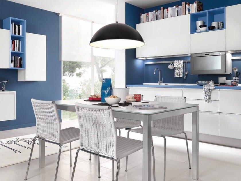 Cucina in legno senza maniglie linda cucina senza - Maniglie cucina ...