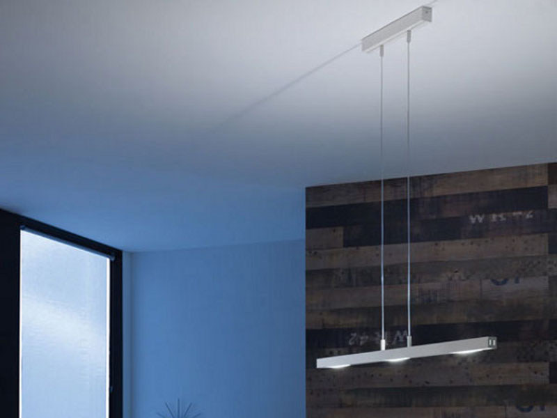 LED extruded aluminum pendant lamp